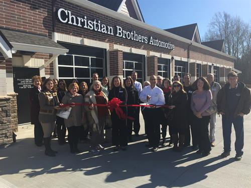 Wake Forest Chamber of Commerce Ribbon Cutting