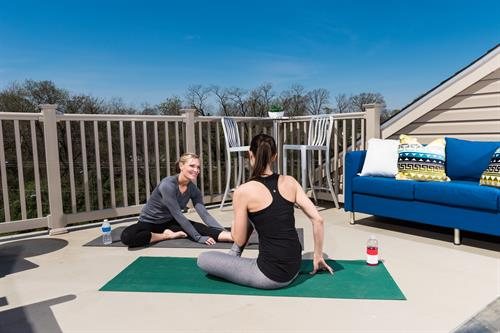 Optional 3rd floor terrace is perfect for relaxing or working out!