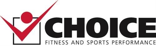 Final logo for Choice Fitness and Sports Performance (now Choice Performance Center) in Durham