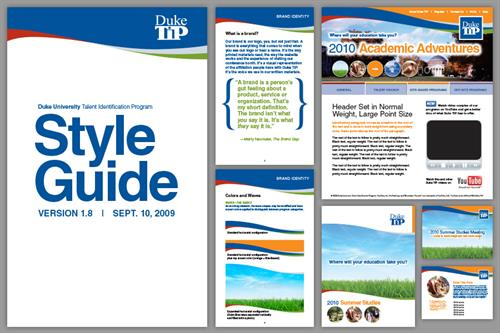 Duke TIP rebranding concept from 2009, when I was working for Azalea Graphics, a small design shop/service bureau in Durham. Client eventually went with a larger organization who could offer a wider range of services.