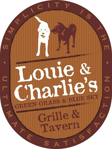 Initial sign design concept for Louie & Charlie's Grille & Tavern. Client eventually went in a different direction (wanted to do something that would fit existing signage instead of making a new one)