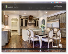 Website Design: Luxemark