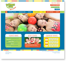 Website Design: Youngs Gym