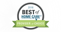 "FirstLight HomeCare is the ONLY agency in Thurston County named a Best of Home Care ""Provider of Choice""."