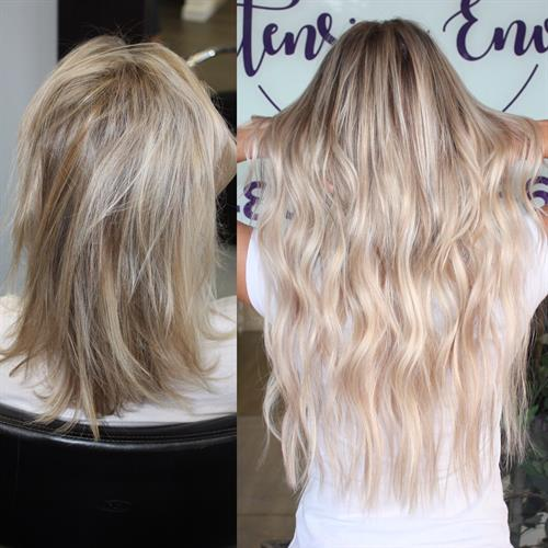 color and weft extensions