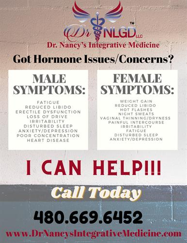 Men and Women Hormone