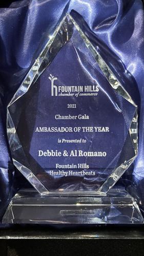2021 Ambassador of The Year Award