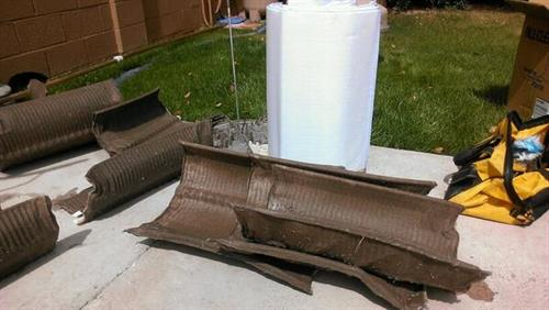 Old Grid & New Grids for a Pool Filter