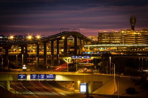 Phoenix Sky Harbor Lighting