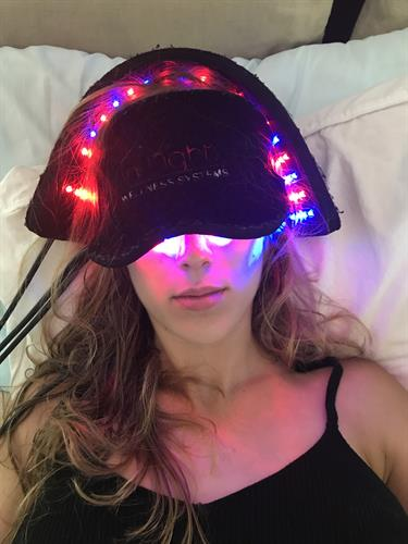 LED Light Therapy for brain health