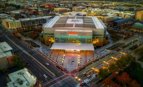 Vivint Smart Home Arena, Site Development