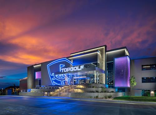 Topgolf Salt Lake City Exterior