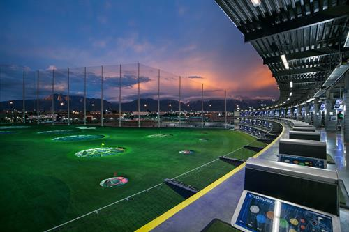 Topgolf Salt Lake City Hitting Bays