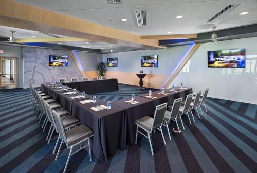 Topgolf Salt Lake City Signature Room - Classroom Setup