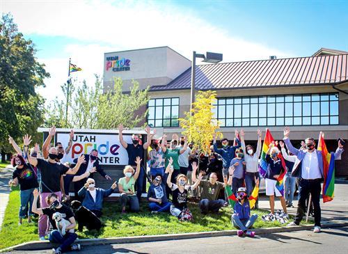 Utah Pride Center Team Photo