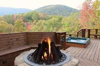 Log Heaven 3Br/2Ba: Mountain View, Comfort, Relaxation