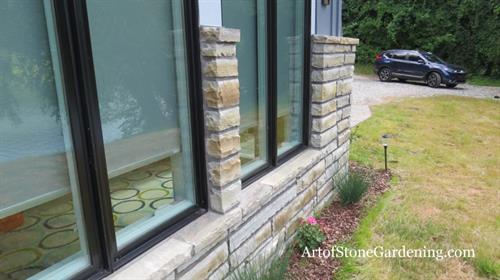 Custom Exterior Stone Work