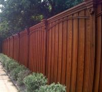 Custom Cedar Fencing, Ornamental Iron