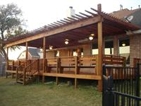 Custom Deck, Shade Arbors, Ornamental Iron
