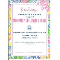 Lilly Pulitzer Shop for a Cause Saturday May 4, 2019