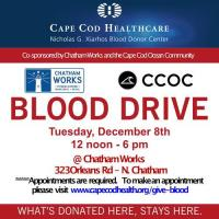 Blood Drive at Chatham Works