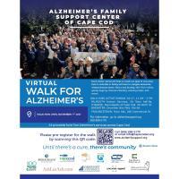 Virtual Walk for Alzheimer's 2021