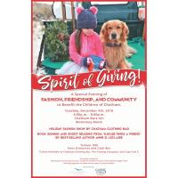 """Spirit of Giving :  A Special Evening of Fashion, Friendship and Community to Benefit Chatham Children"""