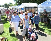 49th Festival of the Arts in Chatham presented by the Creative Arts Center! 120 juried vendors! Children's Tent! Free shuttle to Chase Park!