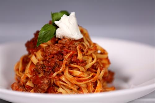 Linguini Bolognese
