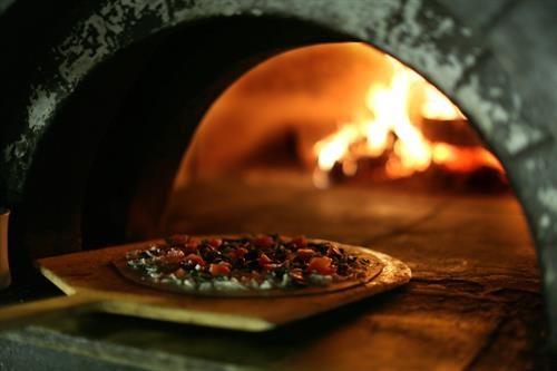 Wood Fired Thin Crust Pizza