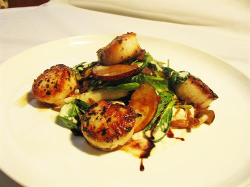 Grilled Scallops