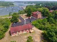 A drone's eye view of Chatham Marconi Maritime Center (Chris Seufert)