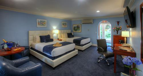 Extra Deluxe Room with Two Queen Beds and Deck