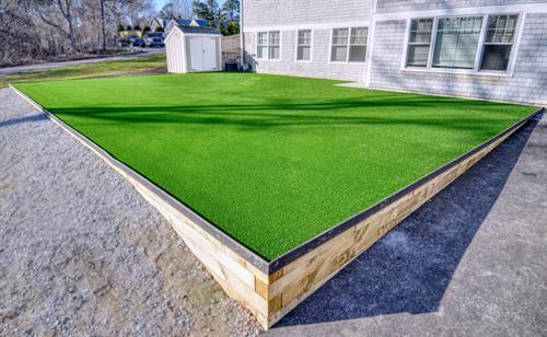 Brand new premium Outdoor Turf space