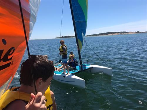 Sailing Hobie Catamarans