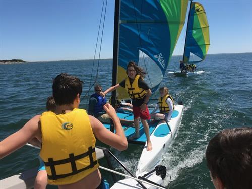 Kids Sailing group