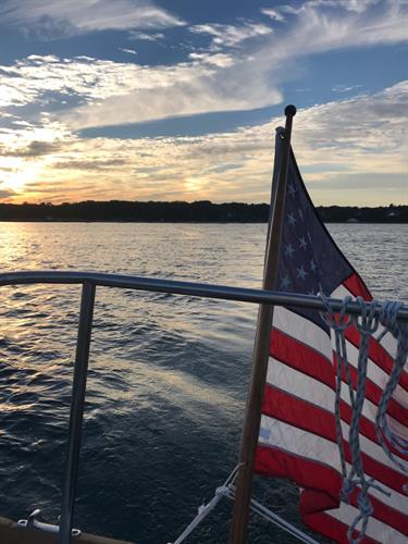 Fourth of July Sailing