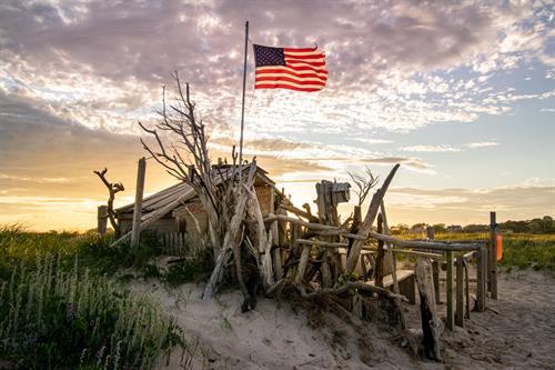 Lighthouse Beach dune shack