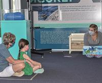 Elementary Story Hour at the Shark Center