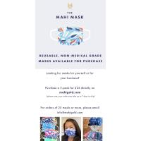 THE MAHI MASK - REUSABLE, NON-MEDICAL GRADE MASKS AVAILABLE FOR PURCHASE