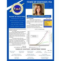 Chatham Community Update from Jill R. Goldsmith, Town Manager