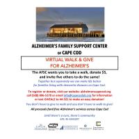 Alzheimer's Family Support Center's  2020 Virtual Walk & Give for Alzheimer's
