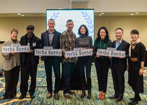 Winners of the Yerba Buena Community Excellence Awards