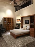 Tahoe Wallbed, Dash and Albert rug, Stylus chairs