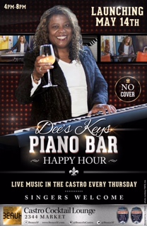Thursday Happy Hour Piano Bar, 4-8pm