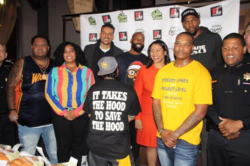 Project Level Turkey Giveaway with  Mayor London Breed x Kevin Durant x Baron Davis x Matt Barnes