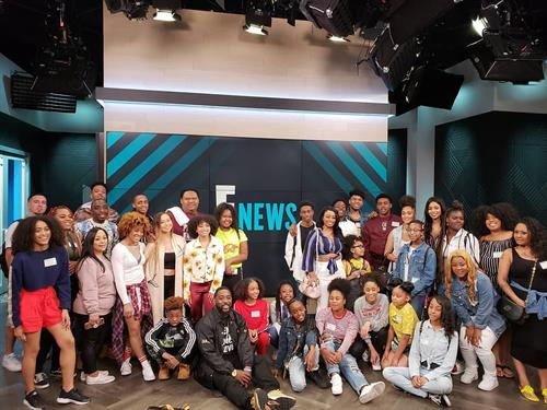 Project Level College Tour at Enews/NBCUniversal3/2018