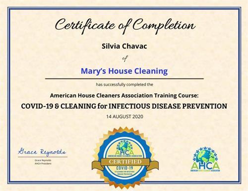 COVID Certifícate
