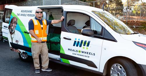 Meals on Wheels SF driver