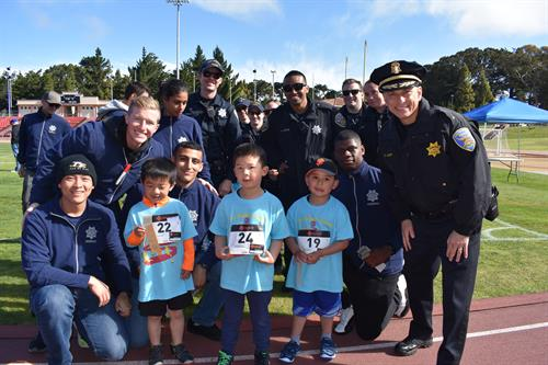 Kids Games Event at Kezar Stadium
